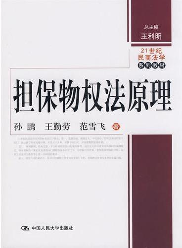 担保物权法原理(21世纪民商法学系列教材)
