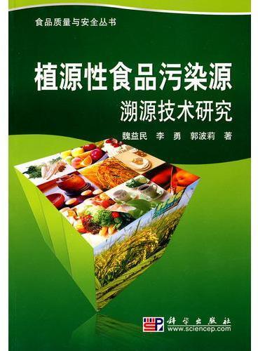 植源性食品污染源溯源技术研究