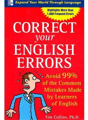 CORRECT YOUR ENGLISH ERRORS(ISBN=9780071470506)