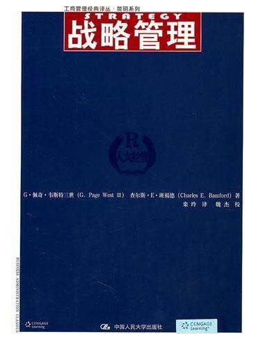 战略管理(工商管理经典译丛·简明系列)