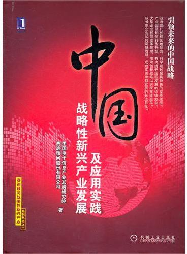 中国战略性新兴产业发展及应用实践