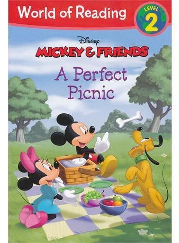 A Perfect Picnic 迪士尼阅读世界第二级:米奇&朋友们-完美的野餐 ISBN 9781423169635
