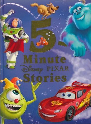 5-Minute Disney*Pixar Stories 迪士尼五分钟皮克斯故事书(精装) ISBN 9781423165200