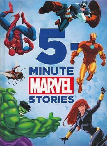 5-Minute Marvel Stories 迪士尼五分钟漫威故事书(精装) ISBN 9781423167228
