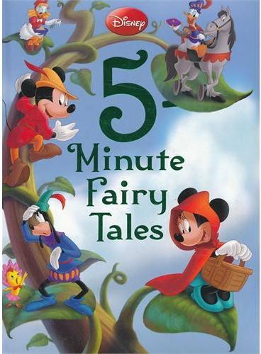 Disney 5-Minute Fairy Tales 迪士尼五分钟小仙子故事书(精装) ISBN 9781423167662