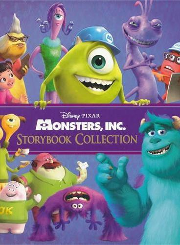Monsters, Inc. Storybook Collection 迪士尼怪物公司故事精选(精装) ISBN 9781423146902