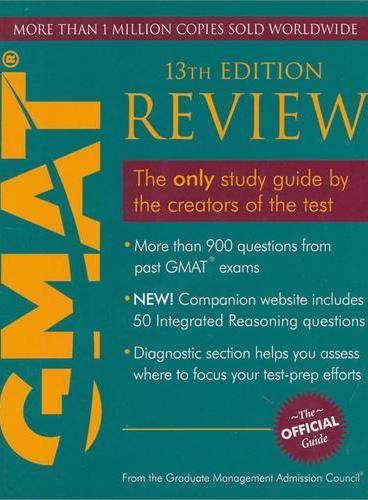 Gmat Review 13E (The Official Guide GMAT官方指南 (综合)(第13版)GMAC中国大陆唯一授权 GMAT必备参考书  9781119961871)