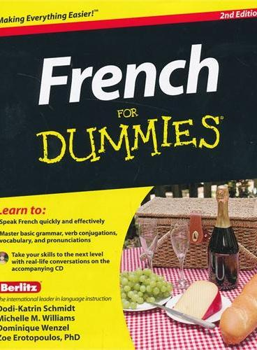 French For Dummies, 2Nd Edition With Cd 9781118004647