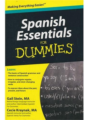 Spanish Essentials For Dummies  9780470637517