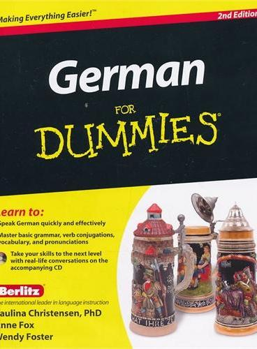 German For Dummies, 2Nd Edition With Cd 9780470901014