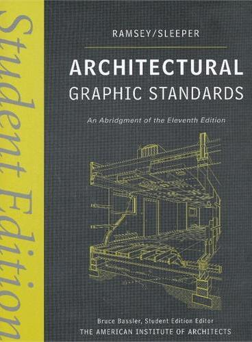 Architectural Graphic Standards, Student Edition