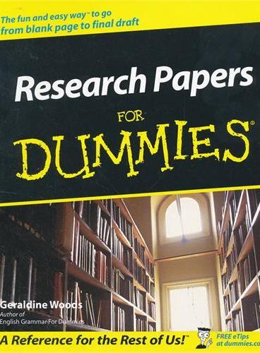 Research Papers For Dummies 9780764554261