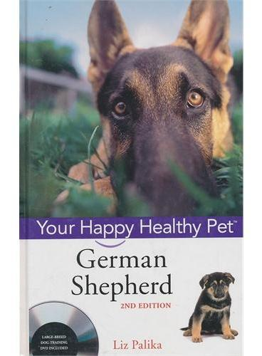 German Shepherd Dog: Your Happy Healthy Pet, Second Edition (With Dvd) 9780470192313