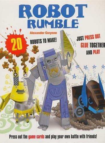 Paper Mayhem: Robot Rumble 纸模型大世界:机器人作战 ISBN9781908005601