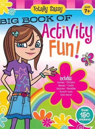 Totally Sassy Big Book of Activity Fun!(ISBN=9781607101413)