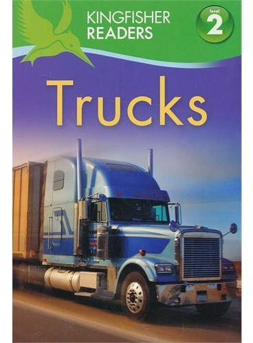 Kingfisher Readers Level 2: Trucks 卡车 ISBN9780753469279