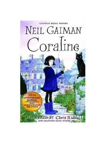 Coraline 10th Anniversary Edition 鬼妈妈十周年纪念版(英国版) ISBN9781408832400