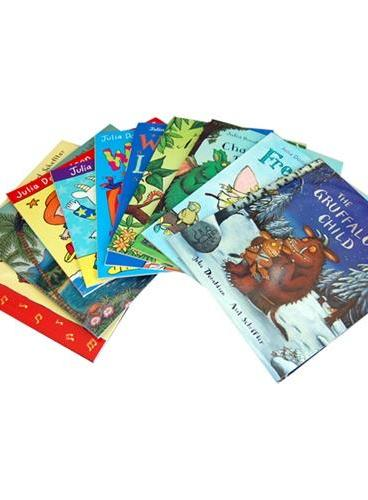 New Julia Donaldson 10-book set in ziplog bag 茱莉亚·唐纳森绘本故事集(10册) ISBN9781447247197