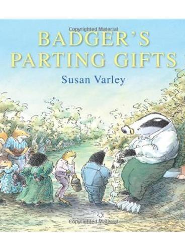 Badger's Parting Gifts 獾的礼物(英国版) ISBN9781849395144