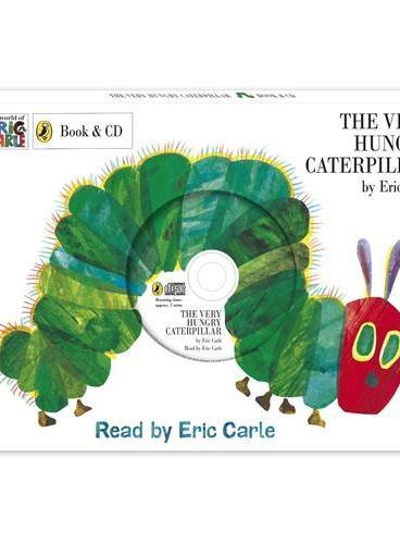 The Very Hungry Caterpillar(Book+CD) 好饿的毛毛虫(书+CD) ISBN9780718199029