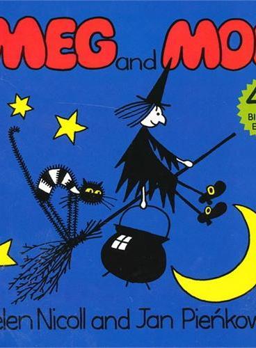 Meg and Mog (40th Birthday Edition) 女巫麦格和小猫莫格 ISBN9780718194420