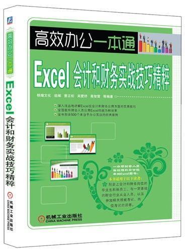 Excel会计和财务实战技巧精粹(一本帮财会人员有效提升办公效率的Excel图书)