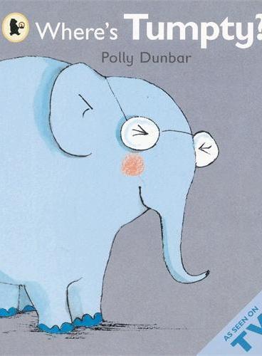 Where's Tumpty BBC动画《提莉和她的朋友》系列:小象在哪 ISBN9781406340457