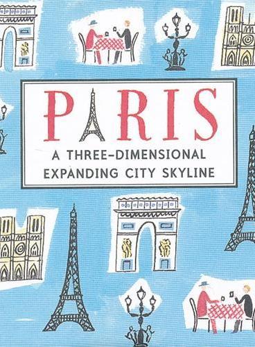Paris (Skylines) 纸上城市立体书:巴黎 ISBN9781406337273