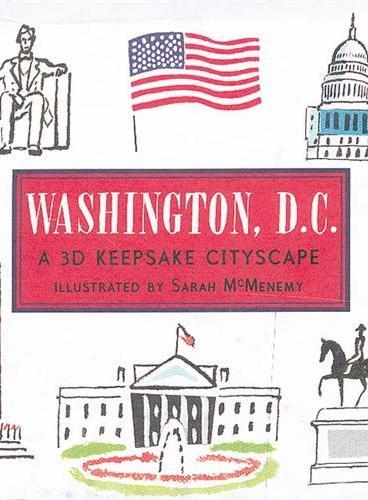 Washington, D.C  (Skylines) 纸上城市立体书:华盛顿 ISBN9781406338027