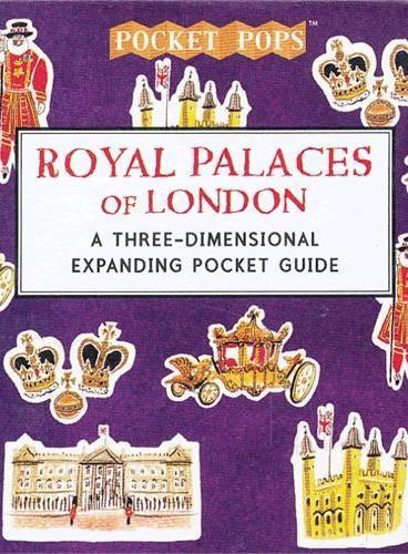 Royal Palaces of London (Skylines) 纸上城市立体书:伦敦皇家宫殿 ISBN9781406341416