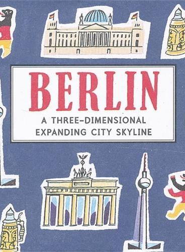 Berlin (Skylines) 纸上城市立体书:柏林 ISBN9781406342932