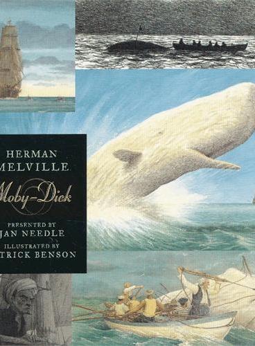 Moby-Dick 白鲸(经典插图版) ISBN9781406317442