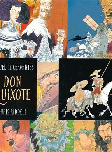 Don Quixote 唐吉诃德(经典插图版) ISBN9781406324303