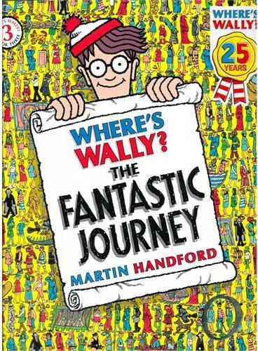 Where's Wally? The Fantastic Journey 威利在哪里3:神秘的魔法王国 ISBN9781406305876