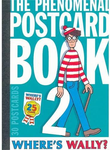 Where's Wally? Postcard Book Two 威利在哪里明信片套装2 ISBN9781406340006