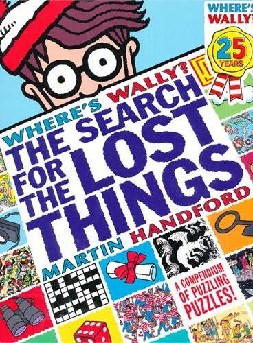 Where's Wally? Search for the Lost Things 威利在哪里:失物大搜索 ISBN9781406336627