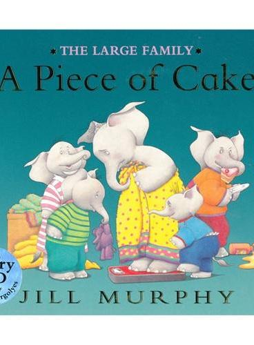 Large Family: A Piece of Cake(book+CD) 大象一家:妈妈要减肥(书+CD) ISBN9781406320930