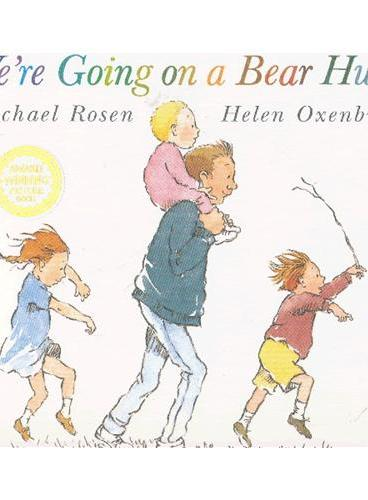 We're Going on a Bear Hunt 和爸爸去猎熊 ISBN9780744523232