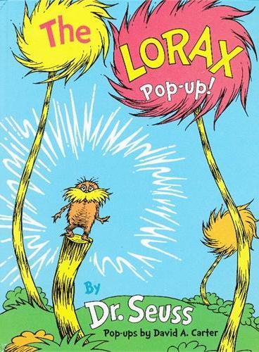 The Lorax Pop-Up! [Hardcover] by Dr. Seuss 苏斯博士:老雷斯的故事(精装立体书) ISBN9780375860355