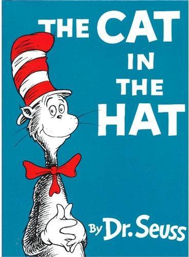 The Cat in the Hat (Beginner Books) [Hardcover] by Dr. Seuss 苏斯博士:戴高帽子的猫(精装) ISBN9780449810866