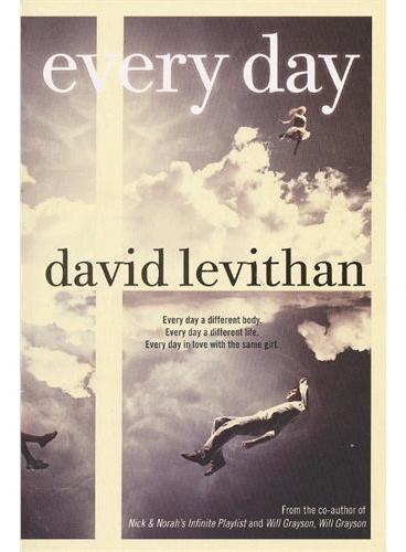 Every Day 每一天(亚马逊最新畅销小说) ISBN9780449815533