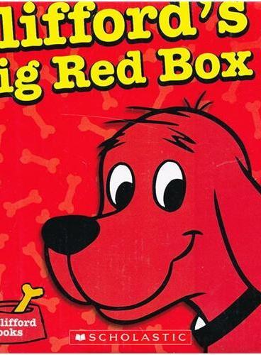 Clifford's Big Red Box 大红狗故事集10本套装 ISBN9780545560252