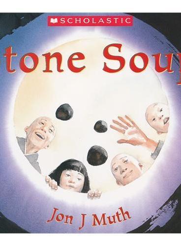 Stone Soup [Audiobook, CD] 学乐有声读物:石头汤 (绘本+CD) ISBN9780545353946