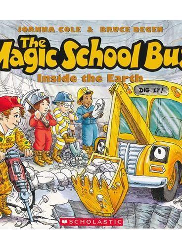 Magic School Bus: Inside The Earth (Audio)学乐有声读物:神奇校车-地球深处(书+CD)ISBN9780545396677
