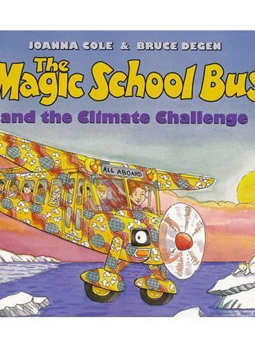 Magic School Bus: Climate Challenge (Audio) 学乐有声读物:神奇校车-气候大挑战 (书+CD) ISBN9780545434256