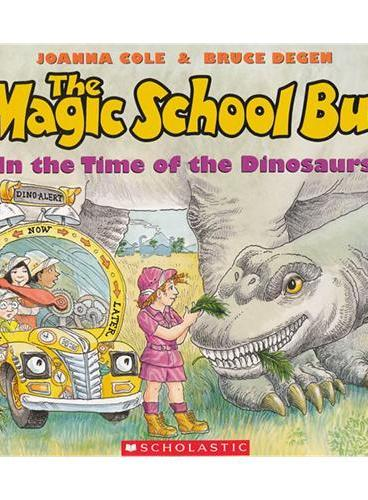 Magic School Bus: In The Time Of Dinosaurs (Audio)学乐有声读物:神奇校车-回归恐龙时代(书+CD)ISBN9780545434157
