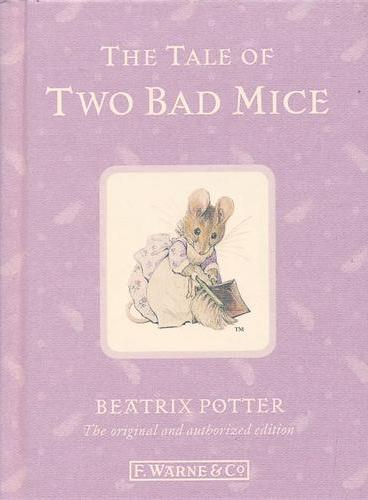 110th Anniversary Peter Rabbit Books: The Tale of Two Bad Mice 彼得兔系列:两只坏老鼠的故事  ISBN 9780723267744