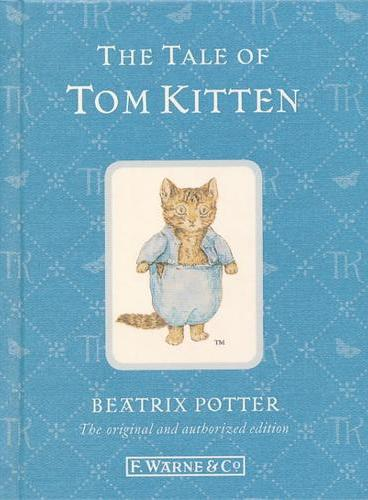 110th Anniversary Peter Rabbit Books: The Tale of Tom Kitten 彼得兔系列:汤姆猫的故事  ISBN 9780723267775