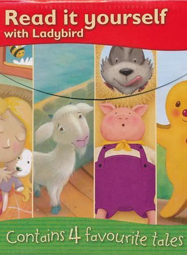 Ladybird: Read it Yourself Boxed Set (Level 1 and 2) 小瓢虫分级读物(第1、2级盒装)
