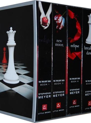 The Twilight Saga Collection《暮光之城1-4》套装 (美国版)